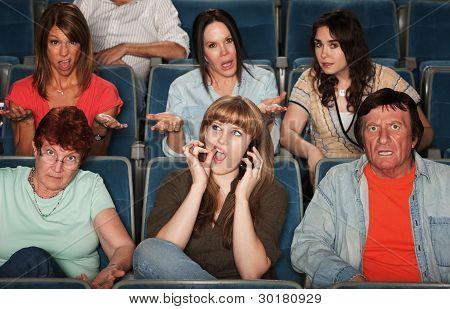Disturbed Audience
