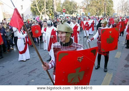 Carnival in Velika Gorica - Topics Asterix and Obelix 4