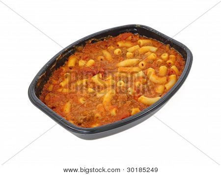 Macaroni And Beef Meal