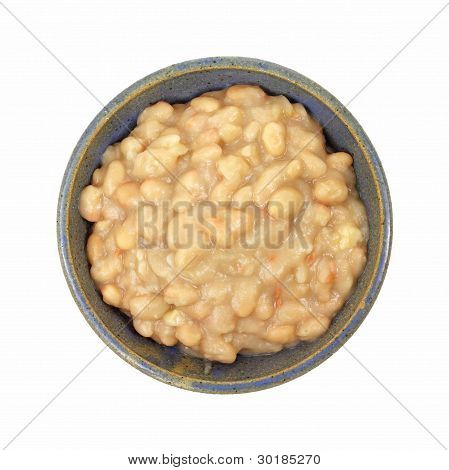 Great Northern Beans In Bowl