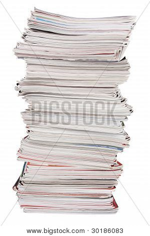 The High Pile Of Useless Paper