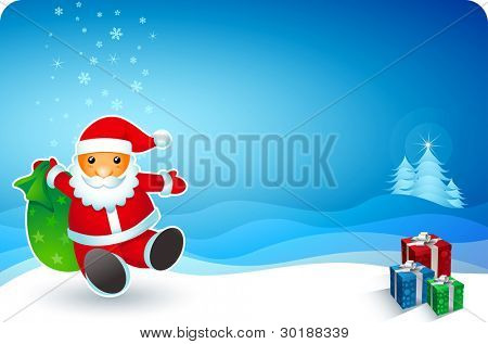 All elements are layered separately in vector file. visit my portfolio for other christmas works.
