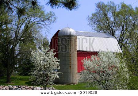 Scenic Red Barn