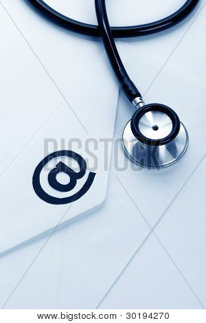 Stethoscope And Email