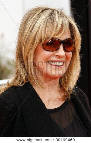 LOS ANGELES, CA - FEB 19: Linda Gray at the 'Dr. Suess' The Lorax' premiere at Universal Studios Hollywood on February 19, 2012 in Los Angeles, California