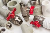image of spigot  - a Plumbing fixtures and the piping parts - JPG