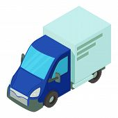 Single Car Icon. Isometric Illustration Of Single Car Icon For Web poster