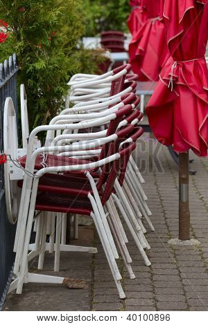 Street Cafe Chairs