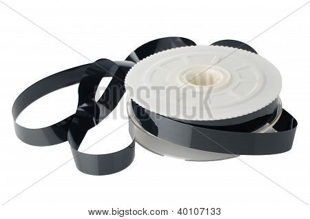 Carrete de cinta de vídeo