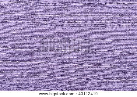 Close Up Purple Striped Linen Background