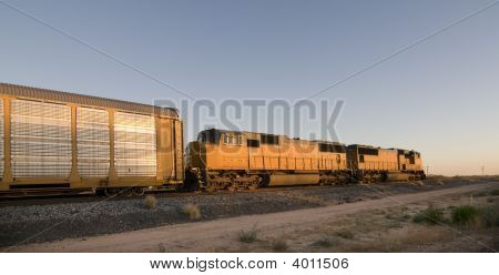 Ferrocarril motor Crossing Arizona