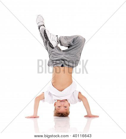 Boy gymnastic