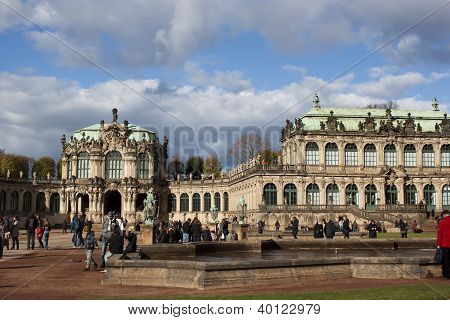 The Zwinger Palace in Dresden