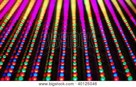 Led Screen Panel Texture