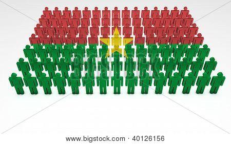 Burkina Faso Parade