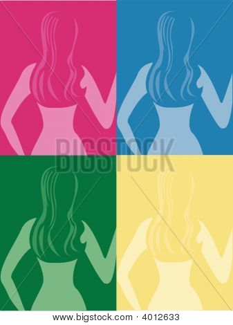 Woman In Colour - A Tribute To Andy Warhol