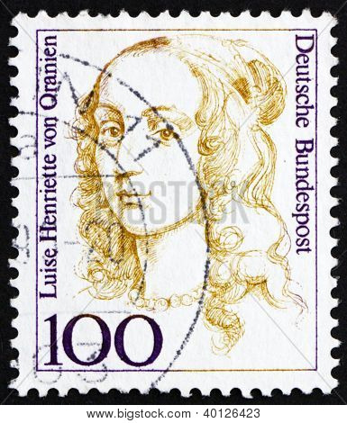 Postage Stamp Germany 1994 Louise Henriette Of Orange