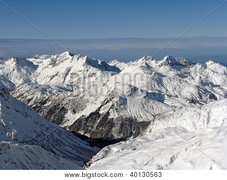 valley in Alps