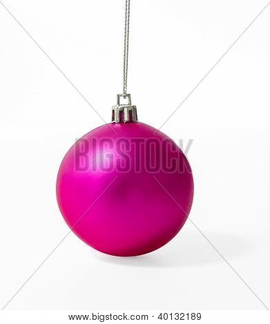 Pink Christmas Ball