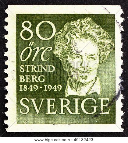 Postage Stamp Sweden 1949 Erik Gustaf Geijer, Historian, Philosopher And Poet