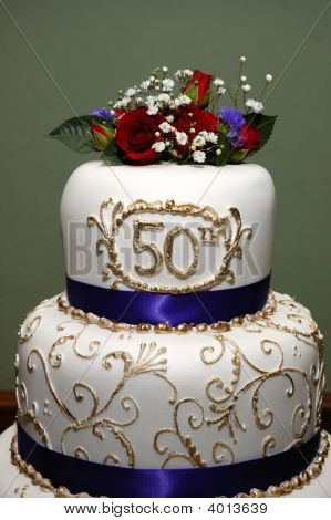 50Th Wed Cake