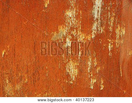 Rusty Steel Sheet Of Metal