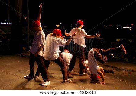 Korean Hip Hop Dance Performers