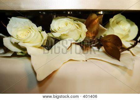 Floral Wedding Cake Decoration