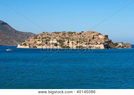 Spinalonga Island. Crete, Greece