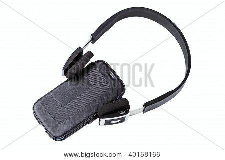 Earphones And Smartphone