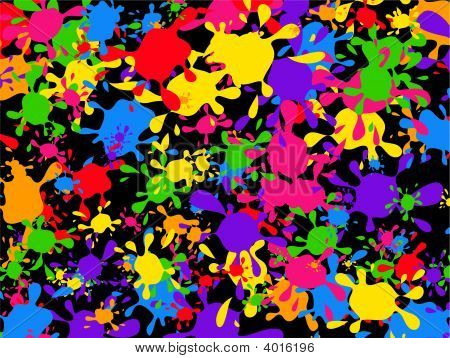 Splatter Wallpaper