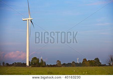 Power Generating Wind Mill Farm