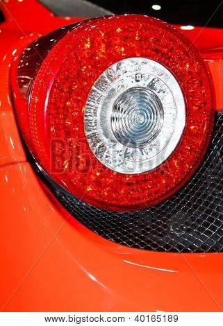 Ferrari 458 Italia's Tail Light