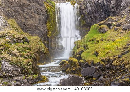 Beauty Waterfall - Iceland.