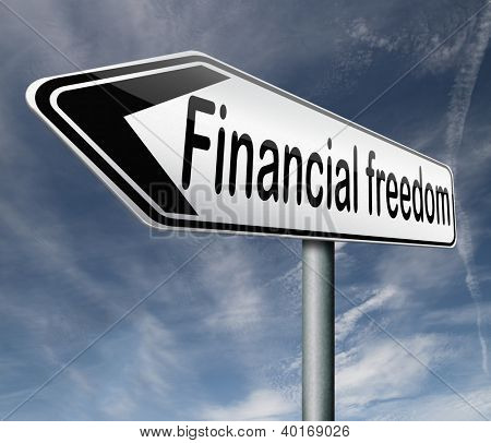 financial freedom or independence