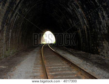 Abandoned Stone Tunnel