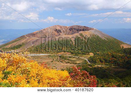 Mt. Azumakofuji Of Tinted Autumn