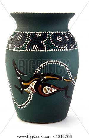 Aboriginal Vase