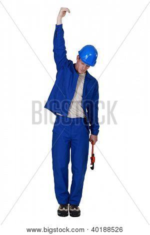 Full length plumber