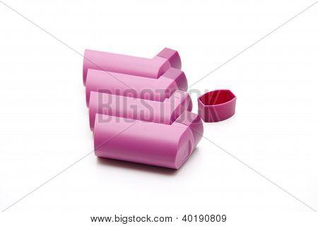 Plastic Inhaler for spray