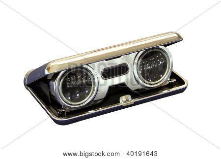 Isolated Opera Binoculars