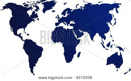 Map Of The World Illustration