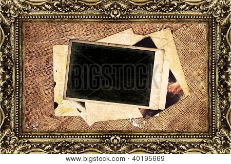 Blank Pictures Background from old post cards