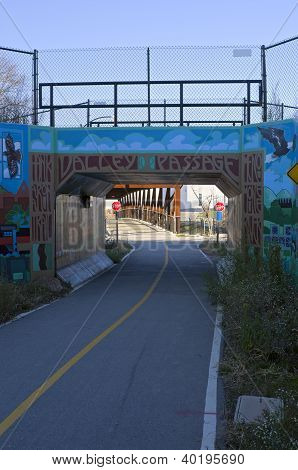 Menomonee Valley Passage On Bike Trail