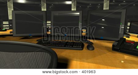 Security Surveillance Room