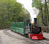 pic of tierra  - Historic vapor train at Tierra del fuego - JPG
