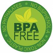 stock photo of non-toxic  - BPA Bisphenol - JPG