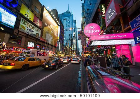 Time Square Night Time