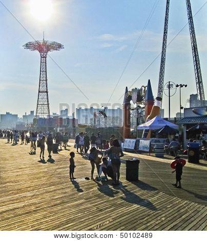 Boardwalk Moment