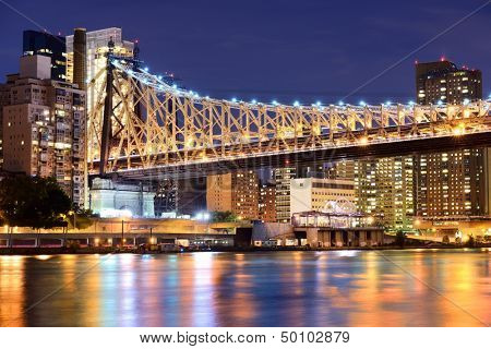 Queensboro Bridge in New York City.